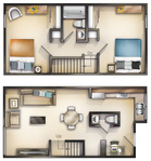 Walnut 2 Bedroom TH